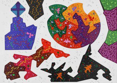 2_Calice multicolore 61x46cm_gouache et feutre
